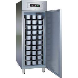 Armadio refrigerato negativo per pasticceria ventilato con vaschette