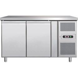 Tavolo refrigerato pasticceria 400lt ventilato per teglie 60x40