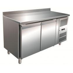 Tavolo refrigerato pasticceria 400lt ventilato con alzatina