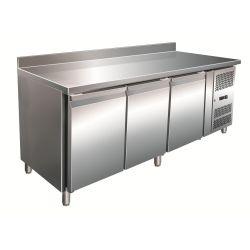 Tavolo refrigerato pasticceria 600lt ventilato con alzatina