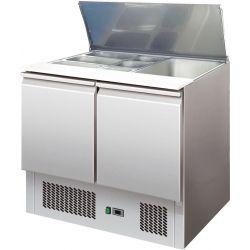 Saladette refrigerate statiche cap.bacinelle N.2 GN1/1+N.3 GN1/6