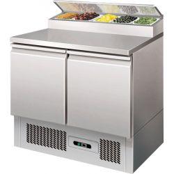Saladette refrigerate statiche cap.bacinelle GN N.5 1/6