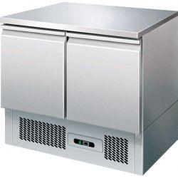 Saladette refrigerata con piano in acciaio inox