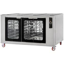 Cella di lievitazione 9 - 9 riscaldata con ruote-porte vetro