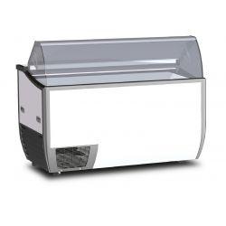 Vetrina refrigerata gelateria 318Lt