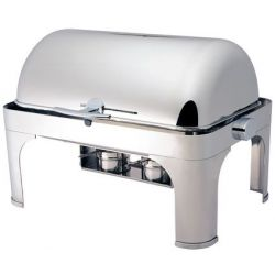 Chafing dish con coperchio roll top 180°