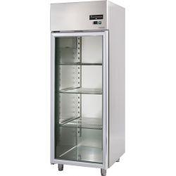 Armadio refrigerato 700 Lt. temp. 0/+10° con porta vetro
