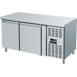 Tavolo refrigerato 2 porte GN 1/1 prof.700 TN