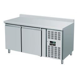 Tavolo refrigerato 2 porte e alzatina GN 1/1 prof.700 TN
