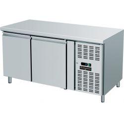 Tavolo refrigerato 2 porte 60x40 per pasticceria