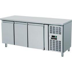 Tavolo refrigerato 3 porte 60x40 per pasticceria