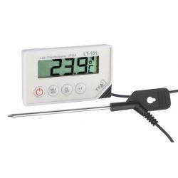 Termometro digitale con sonda ed allarme