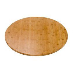 Piano rotondo in bambù