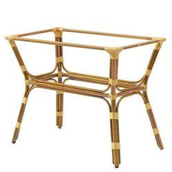 Base in alluminio verniciato bambù