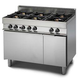 Cucina Gas 6 fuochi forno maxi a Gas