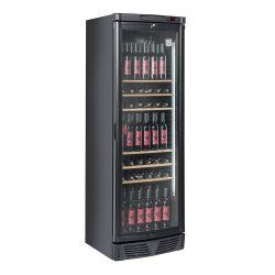 Cantina refrigerata in acciaio nero 345 lt