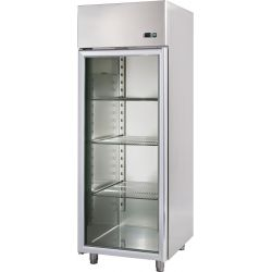 Armadio refrigerato 600 Lt. temp. -2/+10°porta vetro