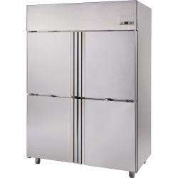 Armadio refrigerato 1400 Lt. temp. -0/+10° 4 porte