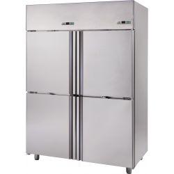 Armadio refrigerato 1400 Lt. temp. -2°/+10° 4 porte carne