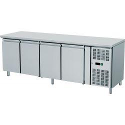Tavolo refrigerato 4 porte prof.600 TN