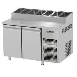 Tavolo refrigerato 2 porte prof.700 Snack GN1/1