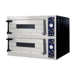 Forno elettrico per 12 pizze Ø 32 - controllo meccanico