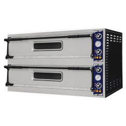 Forno elettrico per 4 teglie 60x40 o 8 pizze Ø 40 - controllo meccanico