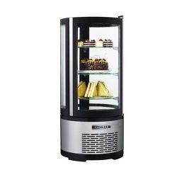 Espositore refrigerato pasticceria 100 litri - temp. +2°+8°C