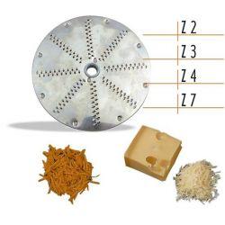 Disco per taglia verdure per grattuggiare e sfilacciare
