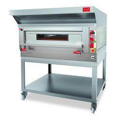 Forno elettrico rotante - cuoce 90 pizze/H - controllo digitale