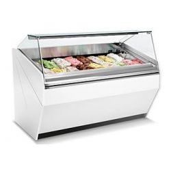 Vetrina gelato 10 vaschette L. 1000mm - refrigerata ventilata
