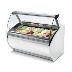 Vetrina gelato 10 vaschette L. 1000 - refrigerata ventilata