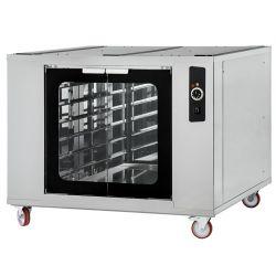 Cella di lievitazione 4 - 44 riscaldata con ruote-porte vetro